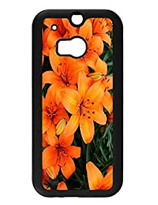 Original Colorful Flower Series Style Hard Plastic Case Cover Accessories for Htc One M8