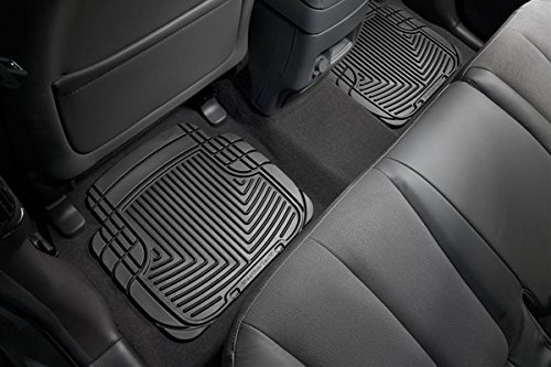 WeatherTech All-Weather Trim to Fit Rear Rubber Mats (Black) (Weathertech Floor Mat For Fx35 compare prices)