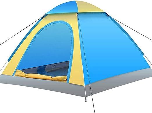DULPLAY Tienda de la bóveda, con Pantalla Tienda de campaña 4 Personas Pop up automático Tienda iglú Al Aire Libre Familia Camping-A 200x200x130cm(79x79x51inch): Amazon.es: Jardín