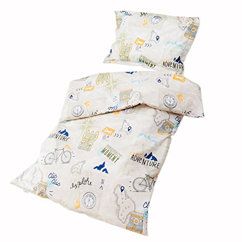 23 Comforter - Baby Journey – Pati'Chou 100% Cotton Cot / Crib Set (Duvet Cover 47