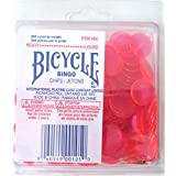 Bingo Chips Heavy Pink Colour 200 Count Bicycle Brand