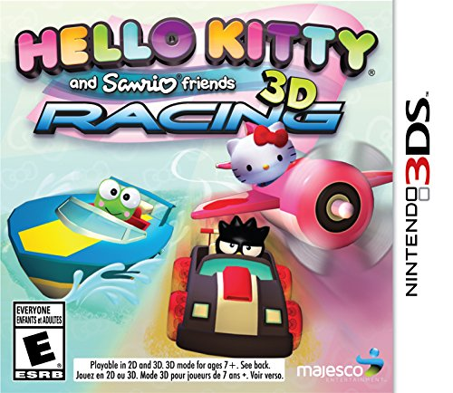 Hello Kitty & Sanrio Friends 3D Racing - Nintendo 3DS