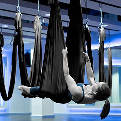 WALLER PAA Large Bearing Yoga Swing Sling Hammock Trapeze For Joyful Yoga Inversion Tool B#