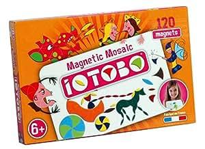 Iotobo ITB1501 - Mosaico magnético (100 piezas)