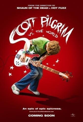Scott Pilgrim Vs The World Movie Poster 24inx36in / 61cm x 91cm ...