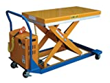 Vestil-CART-23-10-DC-12V-DC-Powered-Scissor-Cart-1000-lbs-Capacity-36-Length-x-24-Width-Platform