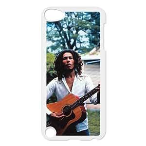 Fashion Design Custom Phone Case for Ipod Touch 5 - Bob Marley DIY Cover Case JZQ-916466