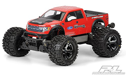 Proline 334800 Ford F-150 SVT Raptor Clear Body for Stampede