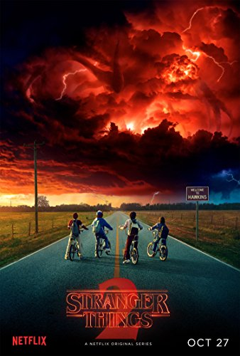 Stranger Things Poster  Season Two 2 II 24x36 inches