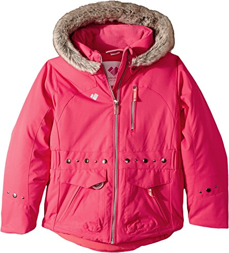 Obermeyer Kids Baby Girl's Taiya Jacket (Toddler/Little Kids/Big Kids) Smitten Pink 6 by Obermeyer Kids