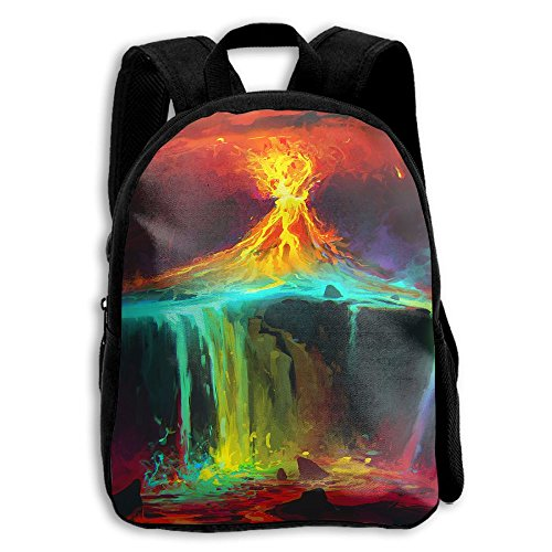 The Children's Colorful Sky Volcano Aweome Backpack (Volcano Oxford)