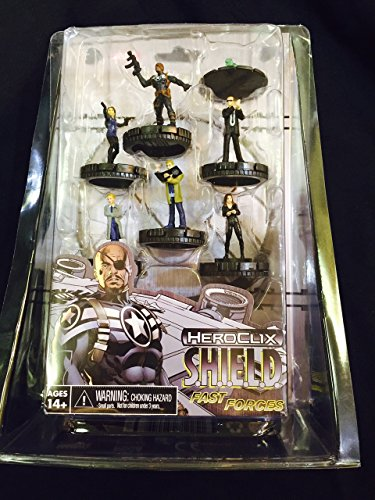 Marvel Heroclix Shield - Marvel Heroclix Nick Fury Agent Shield Fast Forces 6 Pk by WizKids