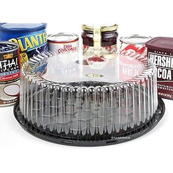Amazon Com Disposable Reusable Plastic Display Cake