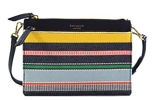 Kate Spade Cameron Boardwalk Stripe Convertible Zip Crossbody Bag Purse Handbag, Multi ()