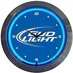 Bud Light Neon Art Clock
