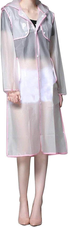 BoBoLily Women's Rain Jacket Windbreaker Outdoor Jacket Functional Raincoat Jacket Hoods Special Style Waterproof Breathable Coat Rosa