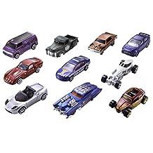Mattel 54886 Hot Wheels 10-Car-Pack, Styles May Vary