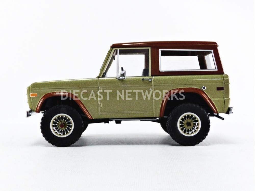 Ford Bronco 1970 gold braun Lost TV-Serie Modellauto 1:18 Greenlight Collectible