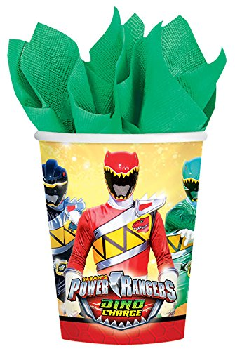 Power Rangers Dino Charge 9 oz. Paper Cups - 8 Count ()