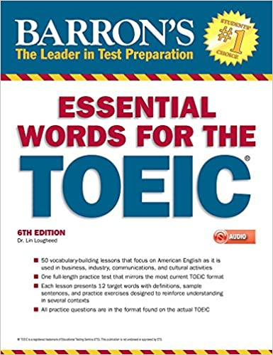 Amazon com: Essential Words for the TOEIC with MP3 CD