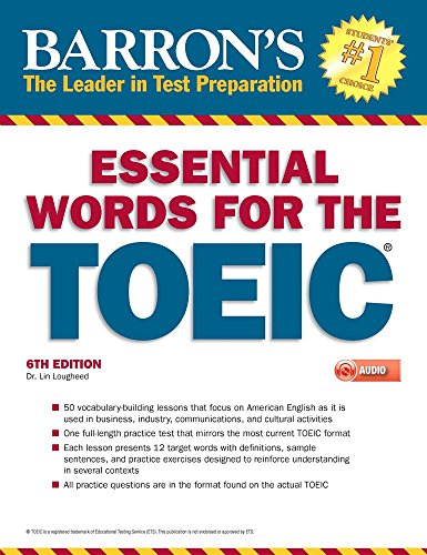 Essential Words for the TOEIC with MP3 CD, 6th Edition