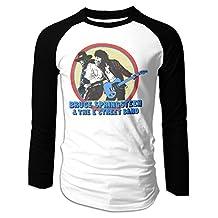Bruce Springsteen E-Street Band Rock Men Long Sleeve Raglan T-Shirt