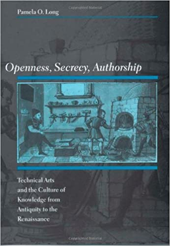 Ilmaisia ladattavia e-kirjoja mp3-levylle Openness, Secrecy, Authorship: Technical Arts and the Culture of Knowledge from Antiquity to the Renaissance B002VUBBBE by Pamela O. Long ePub