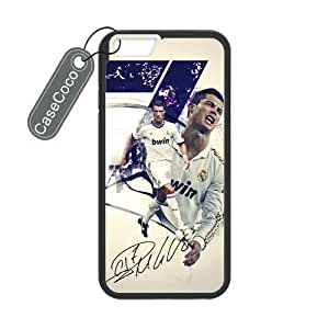 AKF Shop Cristiano Ronaldo Designed Iphone 6 (4.7) Case, Laser Printing by mcsharks