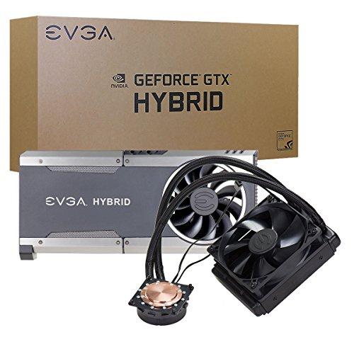 EVGA GTX 1080/1070 FTW Hybrid Waterblock Cooler Cooling (400-HY-5288-B1)
