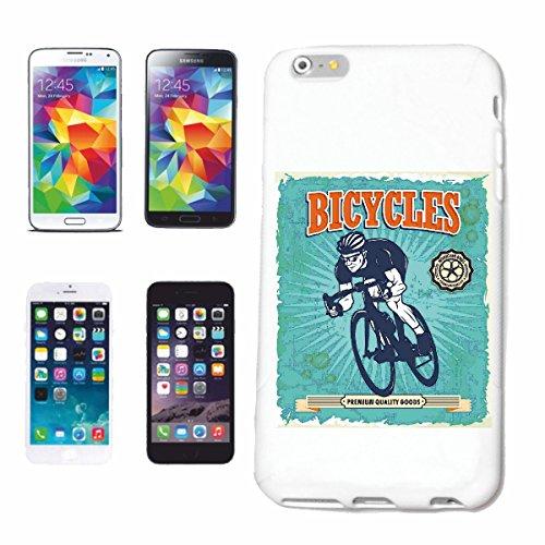 """cas de téléphone iPhone 7+ Plus """"VELOS VÉLO DE MONTAGNE DE BICYCLETTE REPARATION CYCLISME SPORT BIKE TOUR VELO SHIRT"""" Hard Case Cover Téléphone Covers Smart Cover pour Apple iPhone en blanc"""