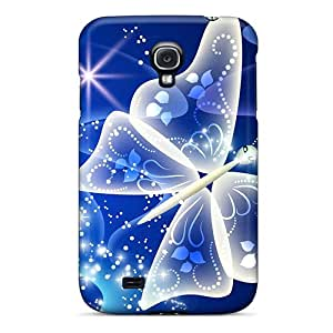 ZkNyh5289eKVFL Snap On Case Cover Skin For Galaxy S4(the Magical Butterfly)