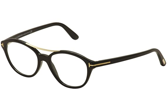 82988ebb39 Tom Ford Prescription Eyeglasses - FT5412 001 - Shiny Black (52 17 ...