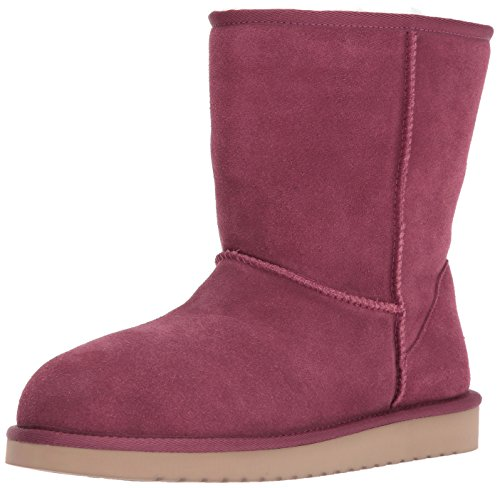 Koolaburra by UGG Women's Koola Short Fashion Boot, Rose, 09 M (Faux Ugg Boots)