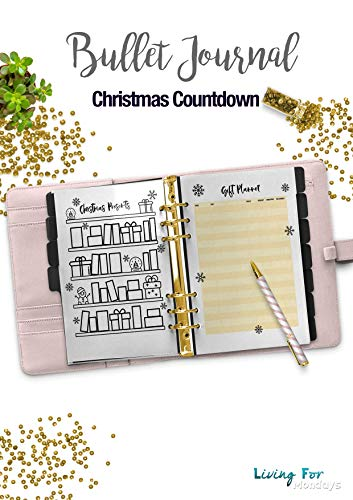 graphic regarding Countdown Printable named : Bullet Magazine Xmas Countdown Planner