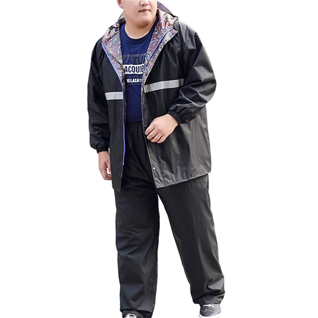 best site strong packing selected material Rainsuit Add fertilizer Reusable (Rain Jacket & Trouser Suit ...