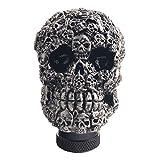 Dewhel Skull Head Custom Shift Knob Universal Car