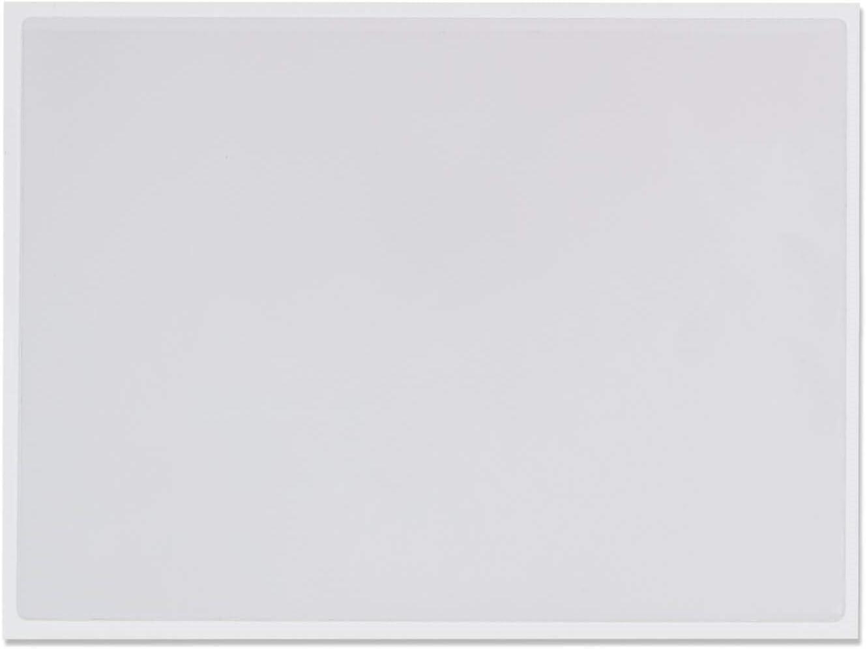 Rechtecktaschen Klarsichttaschen 200 St/ück selbstklebend transparent permanent 220x156mm BxH f/ür A5