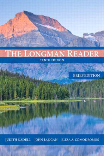 Longman Reader, The: Brief Edition, 10/e Pdf