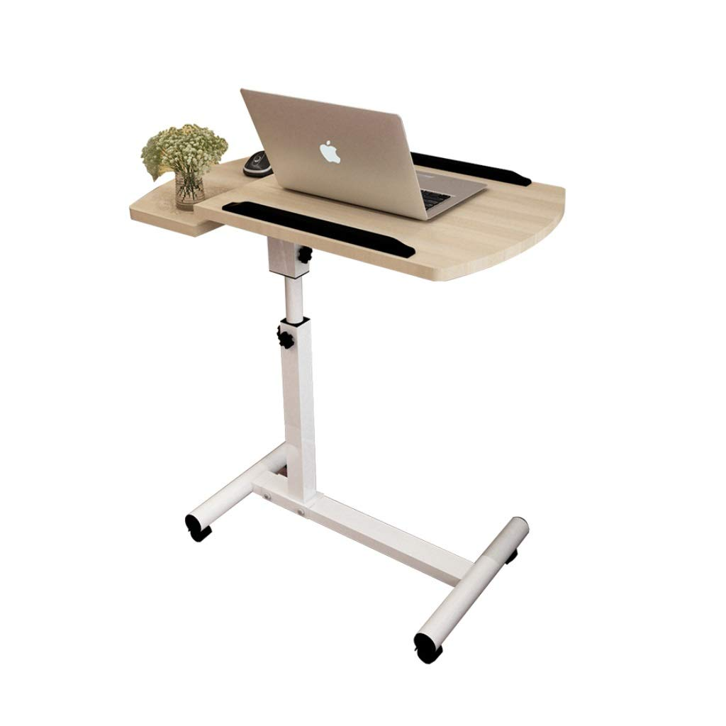 RFQ Laptop Bedside Table, Adjustable Overbed Lazy Computer Desk, Laptop Desk, Lazy Lift Desk, Dining Table, Bedside Computer Desk, Lift Desk, Adjustable Height and Movement, Suitable for All Kinds of
