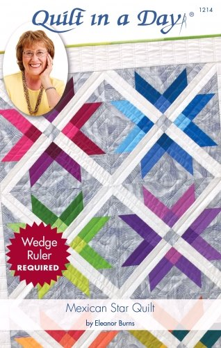Quilt in a Day Mexican Star Quilt Pattern by