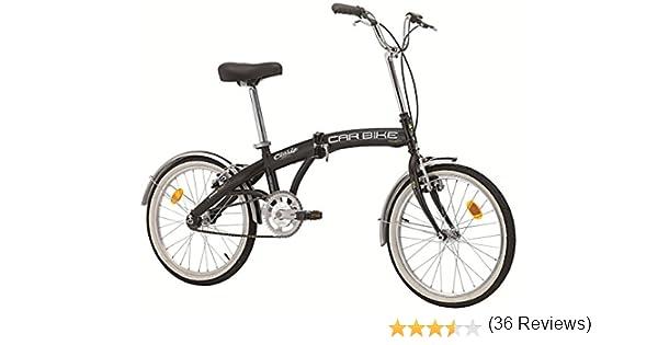 Bicicleta plegable «Car Bike» de acero, 20 pulgadas, color negro: Amazon.es: Deportes y aire libre
