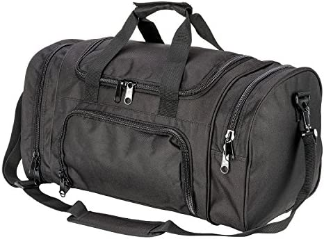 ARMYCAMOUSA Military Tactical Duffle Bag Gym Travel Hiking Trekking Sports Bag with Shoes Compartment