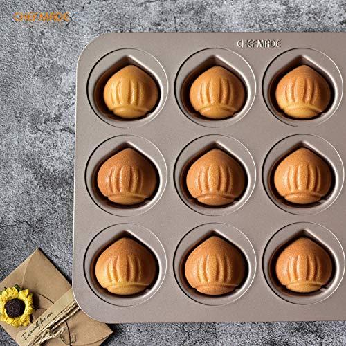 Amazon.com: CHEFMADE - Vasos con forma especial (dorado ...