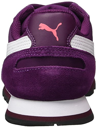 Puma St Runner NL, Sneakers Basses Mixte Adulte Violet (Dark Purple-white)