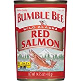 Bumble Bee Alaska Sockeye Red Salmon, 14.75 oz