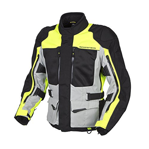 Scorpion Mens Yosemite XDR Motorcycle Jacket Hi-Viz Neon ...