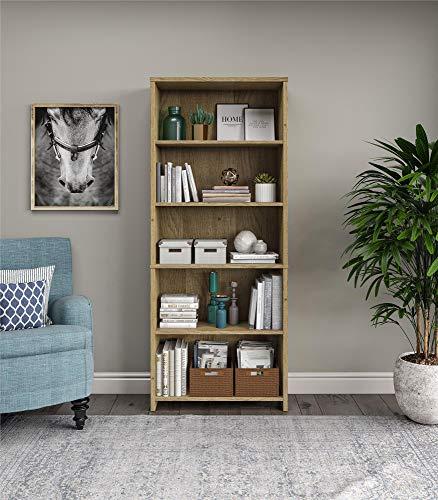Amazon.com: Elegant 5-Shelf Bookcase, Open shelves, Eco ...