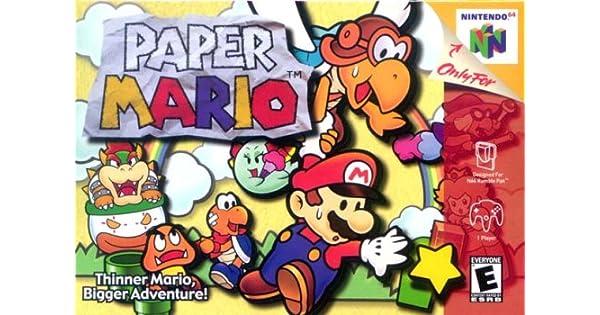 Amazon com: Paper Mario: Video Games