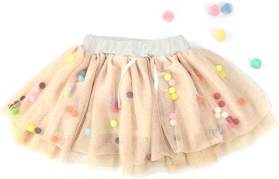 Mini falda de ballet de tul multicolor para niñas pequeñas Ap 80 ...