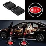 Automotive : ffomo Bearfire 2 Pcs Wireless Car Door Led Welcome Laser Projector Logo Light Ghost Shadow Light Lamp Logos (fit K)